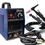 Оригинал CT312 3 в 1 TIG MMA CUT TIG Сварочный аппарат для сварки инвертора 120A TIG / MMA 30A Плазменный резак Портативное многофункциональное сварочное оборудован