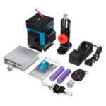 Оригинал 12 Line Self Leveling Laser Level Measure Tool Wall Lift Bracket Remote Control