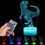 Оригинал 3D Иллюзия Night Light Touch Дистанционное Управление Домашнего Декора Стол Стол Спальный Лампа