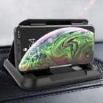 Оригинал Углеродного волокна приборной панели на присоске автомобильный телефон держатель 360 градусов вращения для 3.5-6.5 дюймов смартфон iPhone Samsung