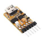 Оригинал M5Stack USB-TTL UART Последовательный адаптер Микроконтроллер 6PIN Auto Downloader Type C USB