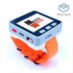 Оригинал M5Stack Многофункциональные часы с 700mAh Батарея для Arduino Micropython ESP32 Core Smart Программируемые часы с Стандарты