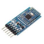 Оригинал 10шт JDY-10 Bluetooth 4.0 Модуль передачи последовательного порта BLE Совместимый CC2541 Ведомый с объединительной платой