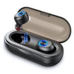 Оригинал ANOMOIBUDS IP010-A TWS Беспроводная связь Bluetooth 5.0 Наушник Мини-легкие портативные вкладыши для двусторонних вызовов с зарядкой Коробка