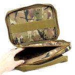 Оригинал ACTION UNION GB004 500D Оксфорд Ткань Тактическая Сумка На открытом воздухе Портативная камуфляжная сумка