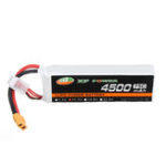 Оригинал XF POWER 11.1 В 4500 мАч 75C 3S Lipo Батарея XT60 Разъем для Volantax Phoenix V2 759-2