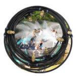 Оригинал 6M / 9M На открытом воздухе Туман Система охлаждения Система разбрызгивания воды Сад Тепличный дворик-патио Туманer Комплекты охлаждающих бр