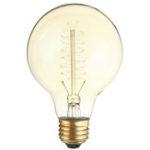 Оригинал Kingso E26 G80 60W AC110V 64A Теплый белый ретро Эдисон Лампа накаливания