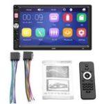 Оригинал HD 7-дюймовый сенсорный экран Авто MP5 Аудио-видео MP4 TF Автоd U Диск AUX Bluetooth MP3-плеер Радио