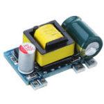Оригинал AC-DC 5V 700 мА 3,5 Вт Изолированный импульсный источник питания Бак-регулятор Понижающий прецизионный модуль питания Преобразователь 220В в 5V