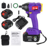 Оригинал 24800mAh 480NM 2 in 1 Electric Cordless Drill Brushless Impact Wrench High Torque with Rechargeable Batteries
