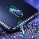 Оригинал Bakeey ™ 2PCS Анти-царапина HD Прозрачное закаленное стекло Телефон камера Объектив Защитная пленка для NOKIA X5