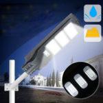Оригинал 40 Вт 80 Вт 120 Вт Солнечная Уличный фонарь PIR Motion Датчик LED На открытом воздухе Сад P ath Wall Лампа
