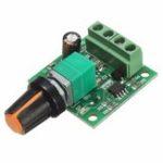 Оригинал 3шт DC 1.8V 3V 5V 6V 12V 2A PWM Мотор Регулятор скорости 0 ~ 100% Регулируемый модуль привода 1803B