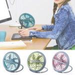 Оригинал Открытыймининастольныйвентиляторспитанием от USB портативный стол для дома небольшой тихий воздухоохладитель