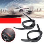 Оригинал Универсальный анти-царапин Авто Колесо Trim Бровей Протектор Автоbon Black Удлиненный 120см