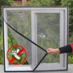 Оригинал Fly Bug Насекомых Занавес Сетка Ошибка Москитная Дверь Окна Липкой Сетки Провод Сетчатые Защитные пленки
