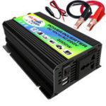 Оригинал 3000 Вт Инвертор постоянного тока 12 В в переменный 220 В Лодка Авто Инвертор USB зарядное устройство преобразователь