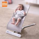 Оригинал Xiaomi Baby Swing Кресло-качалка Регулируемая детская колыбель Многофункциональный трамплин