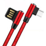 Оригинал Bakeey 3A Micro USB Dual Elbow 90 градусов Быстрая зарядка кабель для передачи данных для HUAWEI P30 Oneplus 7 Pocophone F1 XIAOMI MI9 S10 S10+