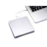 Оригинал USB 3.0 External DVD Burner Ультратонкий внешний CD / DVD-плеер Оптический привод для ПК Ноутбук Windows