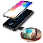 Оригинал Baseus 8000mAh QI LCD Беспроводное зарядное устройство Power Bank для iPhone XS для Samsung для iPhone S10 Xiaomi mi 9