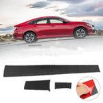 Оригинал 3 ШТ. Углеродного Волокна Центр Панель Обложка Наклейка Наклейка Для Honda Civic 2016 2017
