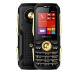 Оригинал GEECOO Tank 1 1.8inch 1700mAh Bluetooth FM с двумя SIM-картами Двойной режим ожидания Прочный телефон