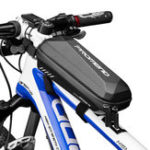 Оригинал PROMEND 14E57 Передняя рама для велосипеда Сумка Водонепроницаемы MTB Дорожное хранилище для велосипедов Сумка На открытом воздухе Чехол для вел