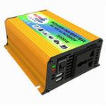 Оригинал 12 В постоянного тока в переменный 220 В Инвертор Модифицированный синусоидальный USB зарядное устройство Лодка Авто 600 Вт преобразователь
