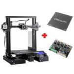 Оригинал Индивидуальная версия Creality 3D® Ender-3X Pro / Ender-3Xs Pro V-слот Prusa I3 3D-принтер Размер печати 220x220x250 мм с магнитной съемной наклейкой / стекло Пластина