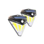 Оригинал  84 COB LED Солнечная Power Light PIR Motion Датчик Настенный путь Сад Лампа Водонепроницаемы