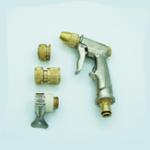 Оригинал Garden Шланг Форсунка для пистолетов Авто Промывка для полива Инструмент и алюминиевый ниппельный распылитель