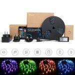 Оригинал SONOFF L1 с регулируемой яркостью IP65 2M 5M Smart WiFi RGB LED Полоска Набор Работа с Amazon Alexa Главная страница Google