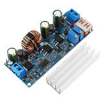 Оригинал DC-DC 5V до 12V24V USB-модуль повышения 45W-80W Регулируемый модуль питания 3.7V 18650 Литий Батарея