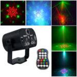 Оригинал Мини 60 моделей Colorful LED Сцена Лазер Световой эффект USB Light Проектор для Свадебное День рождения DJ Disco Party