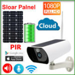 Оригинал JIENUO JN-Y9 Солнечная Панель Батарея 1080P IP камера Wifi Слар CCTV Беспроводная безопасность На открытом воздухе Крытый Водонепроницаемы Полный HD На