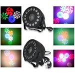 Оригинал 30W RGB Stage Light Дистанционный Управление звуком 15 LED Пар Лампа для клуба DJ Party Disco Свадебное Рождество AC90-240V