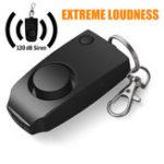 Оригинал Новая система охранной сигнализации против изнасилования Extreme Loud Alert Брелок Безопасность Личная безопасность с виджетами для Женское дете