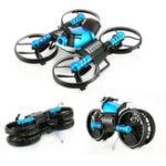 Оригинал HeHengDa Toys H6 2.4G 2 В 1 Электрический RC Деформация мотоцикл Дрон WIFI Control Авто RTR Модель