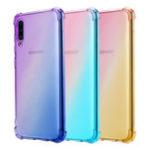 Оригинал Bakeey Gradient Color Ударопрочный Угол Воздушной Подушки Soft ТПУ Защитный Чехол для Samsung Galaxy A70 2019