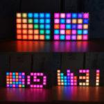 Оригинал Geekcreit® DIY Многофункциональный LED Cool Music Spectrum RGB Цветовая палитра Часы Набор