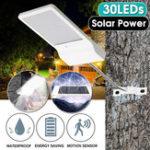 Оригинал 30 LED Солнечная Power Motion Датчик IP65 Водонепроницаемы Сад Двор уличный свет Лампа Солнечная Сад Свет