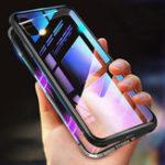 Оригинал Bakeey 360 ° Магнитная Адсорбция Металла Закаленное Стекло Защитная Флип Чехол для Xiaomi Redmi 7A 5,45 дюйма