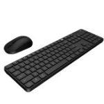 Оригинал Xiaomi MIIIW Wireless Клавиатура & Мышь Набор для Windows / Mac Переключение одной кнопкой 104 клавиши 2,4 ГГц IPX4 Водонепроницаемы Клавиатура