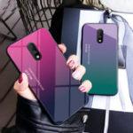 Оригинал Bakeey Gradient Color Противоударное закаленное стекло Защитное Чехол для OnePlus 7/OnePlus 6T