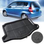 Оригинал Автомобильный багажник багажника Доставка Mat Liner Tray Водонепроницаемы Для Honda Jazz Fit 2014-2016