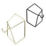Оригинал Геометрическая стена Крюк Железный держатель Nordic Вешалка Украшения для дома Брелок Ткань