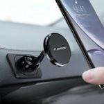 Оригинал Floveme Strong Магнит Гибкая приборная панель вращения на 360º Авто Держатель телефона для смартфонов 4.0-6.5 дюймов
