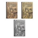 Оригинал Статуя Свободы Ноутбук Travel Школа Notebook Gift Fashion Notebook для Школа Канцелярские товары
